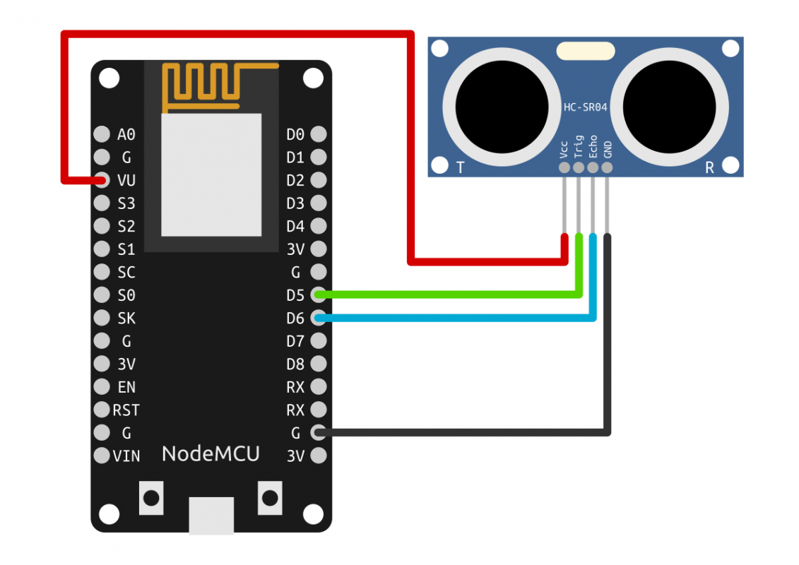 Control LIFX with NodeMCU and range sensor | ra100 lab